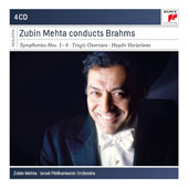 Brahms: Symphonies Nos. 1-4; Tragic Overture; Variations on a Theme by Haydn / Israel Philharmonic Orchestra, Zubin Mehta