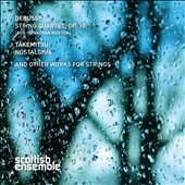 Claude Debussy (1862-1918): String Quartet, Op.10; Toru Takemitsu (1930-1996): Nostalghia / Scottish Ensemble, Jonathan Morton