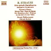 Strauss: Also sprach Zarathustra, etc / Kosler, Slovak PO