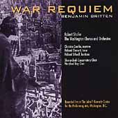 Britten: War Requiem / Shafer, Washington Chorus & Orchestra