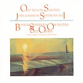 Wilson: Sinfonia;  Harbison: Symphony No 1 / Ozawa