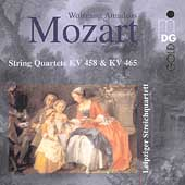 Mozart: String Quartets KV 458 & 465 /Leipzig String Quartet