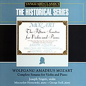 Historical - Mozart: Complete Violin Sonatas / Szigeti