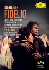 Beethoven: Fidelio / Böhm/Deutsche Opera Berlin, Jones, King, Neidlinger [DVD]