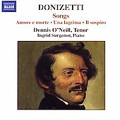 Donizetti: Songs / Dennis O' Neill, Ingrid Surgenor