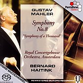 Mahler: Symphony no 8 / Haitink, Royal Concertgebouw, et al