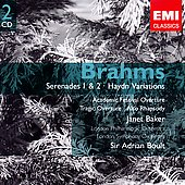 Brahms: Orchestral Works / Boult, et al