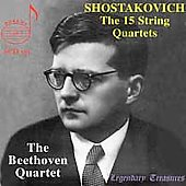 Legendary Treasures - Shostakovich: 15 String Quartets