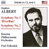 Albert: Symphonies no 1 & 2 / Paul Polivnick, Russian PO