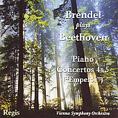 Beethoven: Concertos no 4 & 5 / Brendel, Mehta, Wallberg