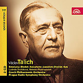 V&#225;clav Talich Special Edition Vol 17- Smetana, Dvor&#225;k, etc