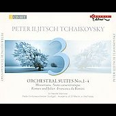 Tchaikovsky: Orchestral Suites no 1-4, Romeo and Juliet, etc / Marriner, ASMF, et al
