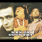 Johnny Cash/Waylon Jennings/Willie Nelson: Men of Country: Triple Feature [Digipak]