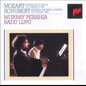 Mozart: Sonata for 2 Pianos in D major; Schubert: Fantasia for Piano, 4 hands in F minor