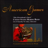 American Games - 20th Century Classics for Winds: Schoenberg, Cushing, Maw et al.