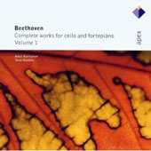 Beethoven: Complete Works for Cello and Fortepiano, Vol. 1