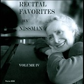 Recital Favorites by Nissman, Vol. 4