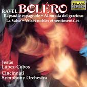 Ravel: Bolero, etc / L&oacute;pez-Cobos, Cincinnati SO