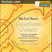 Michael Krein Saxophone Quartet: A Tribute to Jack Brymer