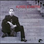 Alfred Schnittke: Works for Violin / Tigran Shiganyan