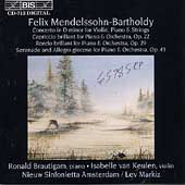 Mendelssohn: Concerto for Violin & Piano, etc / Markiz