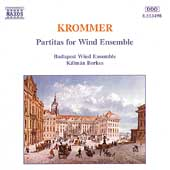 Krommer: Partitas for Wind Ensemble / Budapest Wind Ensemble