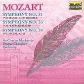 Classics - Mozart: Symphonies 31, 33 & 34 / Mackerras