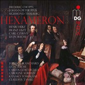 Liszt: Hexameron - works by Chopin, Czerny, Thalberg, Herz, Liszt, Pixis and Buche / Blanchard, Buche, Goicoechea, Sorieux, Tanski