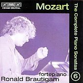 Mozart: The Complete Piano Sonatas Vol 6 / Ronald Brautigam