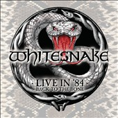 Whitesnake: Live in 84: Back to the Bone [CD/DVD] [Digipak]