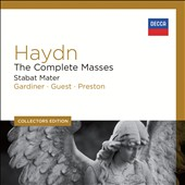 Collectors Edition: Haydn - The Complete Masses; Stabat Mater / Judith Nelson, Martyn Hill, Emma Kirkby, Margaret Cable, David Thomas [8 CDs]