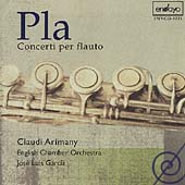 Pla: Concerti per flauto / Arimany, Garcia, English Chamber