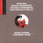 Brahms: Violin Concerto, etc / Stern, Rose, Ormandy, et al