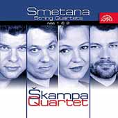 Smetana: String Quartets no 1 & 2 / Skampa Quartet