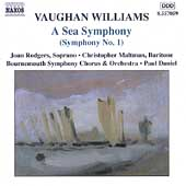 Vaughan Williams: A Sea Symphony (Symphony no 1) / Daniel