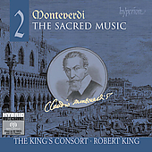 Monteverdi: Sacred Music Vol 2 / Robert King, King's Consort
