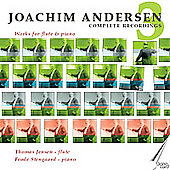 Anderson: Works for Flute and Piano 3 / Jensen, Stengaard