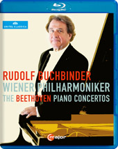 The Beethoven Piano Concertos / Rudolf Buchbinder [Blu-Ray]