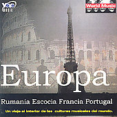 Various Artists: Europa: Rumania, Escocia, Francia, Portugal