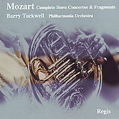 Mozart: Horn Concertos / Tuckwell,  Philharmonia Orchestra