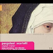 Pergolesi, Scarlatti: Stabat maters / Alessandrini, et al