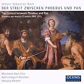 Der Streit zwischen Phoebus und Pan, etc / Albrecht, et al