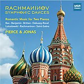 Romantic Music for Two Pianos - Saint-Saëns, Rachmaninov, Debussy, etc / Pierce, Jonas