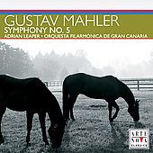 Mahler: Symphony no 5 / Leaper, Gran Canaria Filarm&oacute;nica
