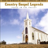 Various Artists: Country Gospel Legends: Peace in the Valley [Slimeline Case]