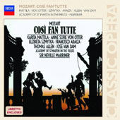 Mozart: Cosi Fan Tutte / Karita Mattila; Sir Neville Marriner