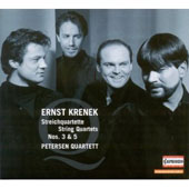 Krenek: Streichquartette no 3 & 5 / Petersen Quartett