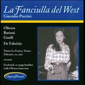 Giacomo Puccini: La Fanciulla del West