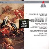Mozart: Regina Coeli, Litaniae, etc / Harnoncourt, et al