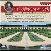 C.P.E. Bach: Vocal Works / Barbara Schlick, Johanna Koslowsky, Wilfried Jochens, Gotthold Schwarz
